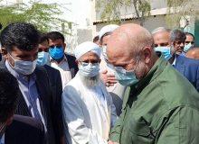 سفر رئیس مجلس به منطقه سیستان/ بازدید قالیباف از طرح انتقال آب به ۴۶هزار هکتار اراضی دشت سیستان