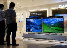 قیمت تلویزیون در بازار برابر با قیمت سمند  + جدول