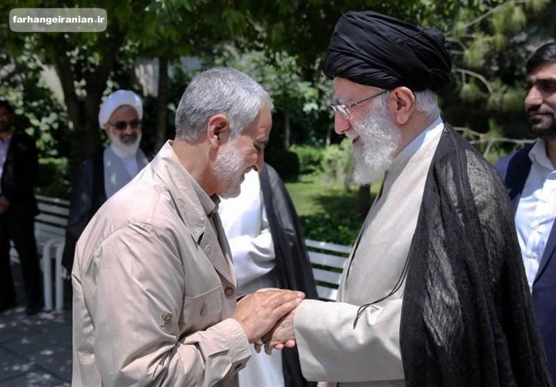یادداشت رهبر انقلاب درباره زندگی نامه خودنوشت سردار قاسم سلیمانی