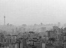 تهرانیها در برزخ سرخی آلودگی هوا و زردی کرونا
