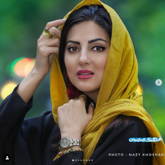 خرم سلطان سینما و تلویزیون ایران + تصاویر