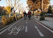 شهرداری و سه شنبه های بدون خودرو/ادامه توسعه مسیر ایمن دوچرخهسواری در سال ١۴٠٠
