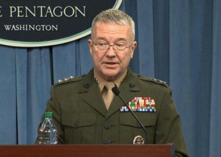 فرمانده سنتکام: استفاده گسترده ایران از پهپادها باعث شده که برای اولین بار از زمان جنگ کره، برتری کامل هوایی نداشته باشیم