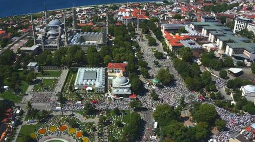 ایاصوفیه و عبور ترکیه از لاییسیته