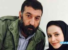 آخرین عکس پدر و دختری علی انصاریان