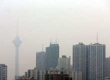 هوای تهران ناسالم است