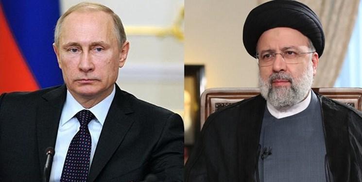 تماس تلفنی پوتین با رئیسی/ ابراز امیدواری روسای جمهور ایران و روسیه برای دیدار در آینده نزدیک