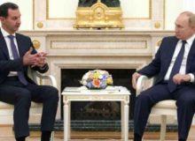 اهداف بشار اسد از سفر به روسیه چه بود؟
